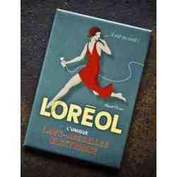 """Magnet humour """"Loréol""""."""