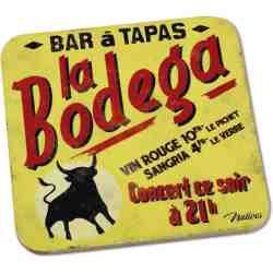 """6 dessous de verre """"La Bodega"""" - Natives"""