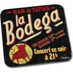 """6 dessous de verre """"La Bodega"""" - Natives Deco"""
