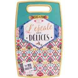 """Planche à découper """"L'escale aux délices"""" - Natives Deco."""