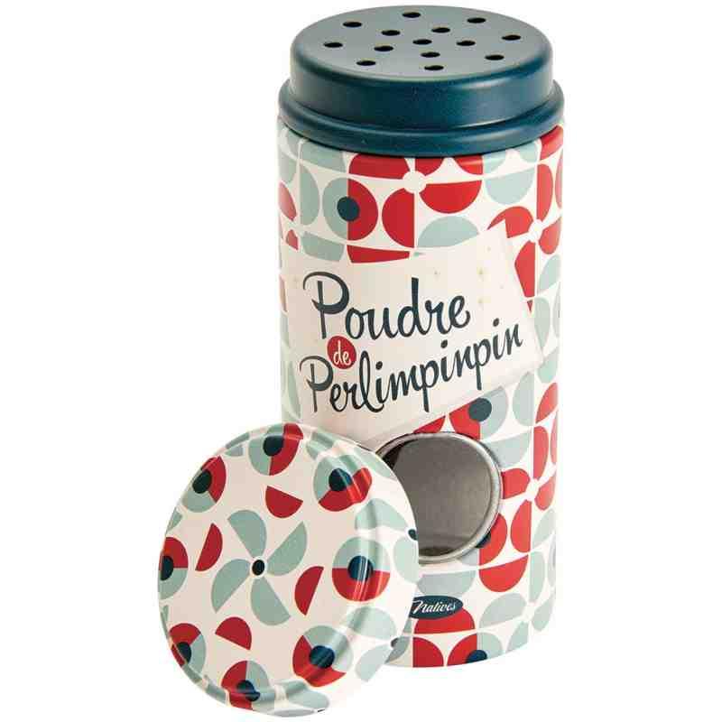 """Pot à épices """"Poudre de perlimpinpin"""" - Natives Déco."""
