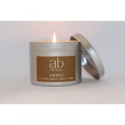 Bougie Cire Parfumée - Ambre