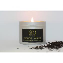 Bougie Cire Parfumée - Thé Noir Vanille