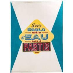 """Torchon de cuisine """"Pastis"""" humour"""